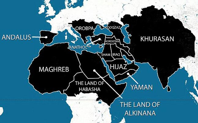 Tarek fatah on twitter the isis world map of the year 2020 the isis world map of the year 2020 includes all of india delhi shouldnt shrug off the map gumiabroncs Choice Image