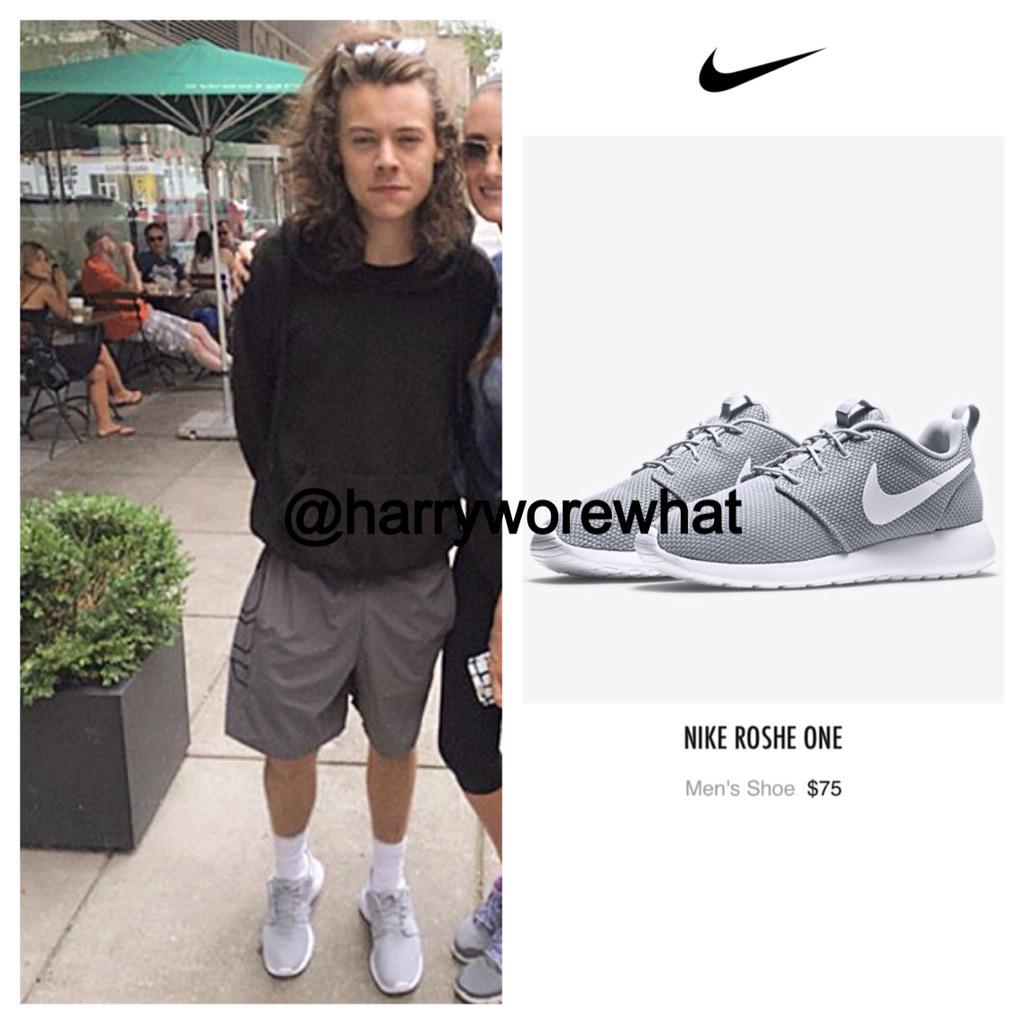 ... switzerland harry wore what on twitter harry wore 75 nike roshe one  shoes while out yesterday 9667026c2