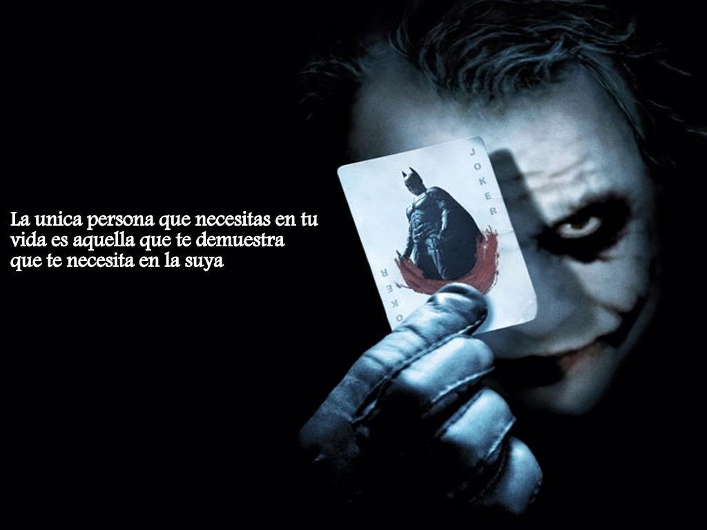 Poster Joker te necesita