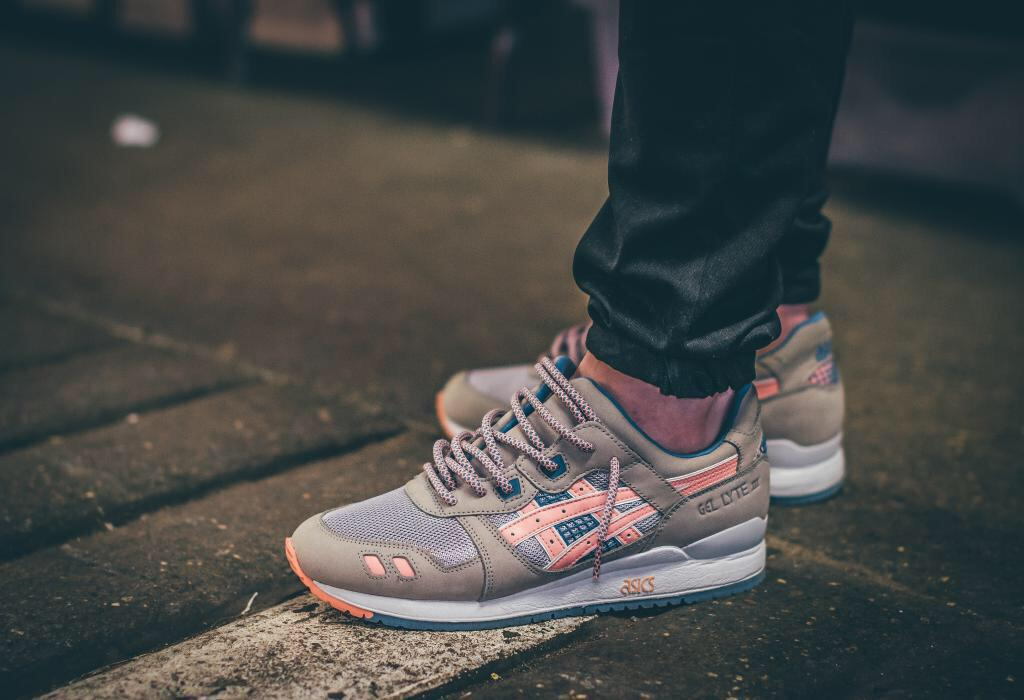 asics gel lyte 3 flamingo for sale
