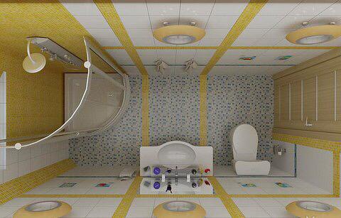 30 صورة تصميم ديكور حمامات صغيرة المساحة 2017 ديكور بلس