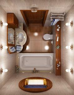 وافكار للحمامات صغيرة المساحة 5