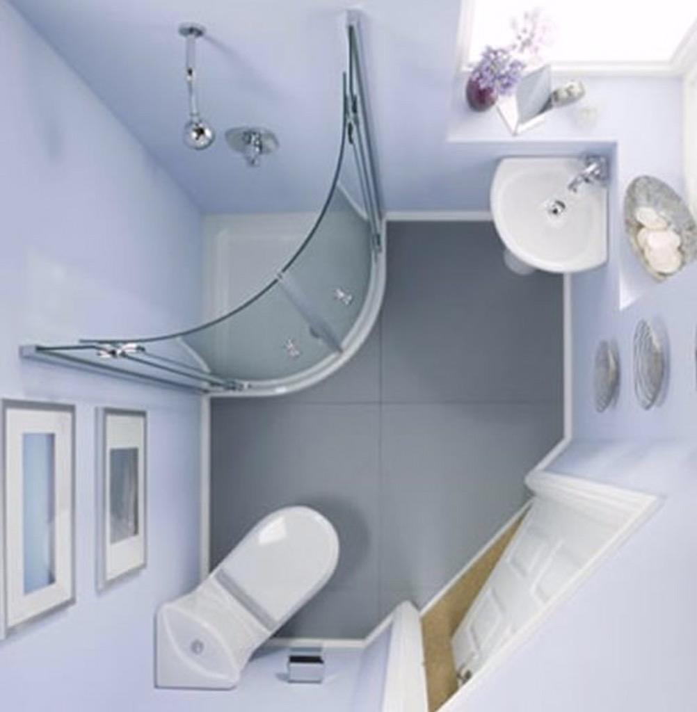 وافكار للحمامات صغيرة المساحة 1