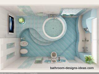 وافكار للحمامات صغيرة المساحة 4