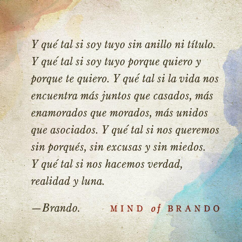 Mind of brando on twitter y qu tal si nos queremos sin for En que luna nos encontramos hoy