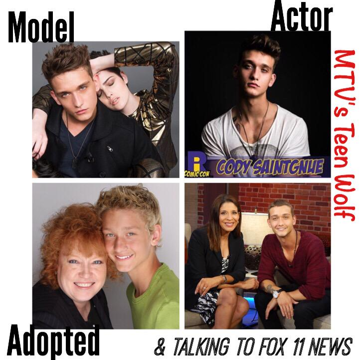 Proud of #MTV #TeenWolf actor @codysaintnew for speaking out on being adopted. INTERVIEW: http://t.co/CmTlw53OO1 http://t.co/2UGQILeX4E