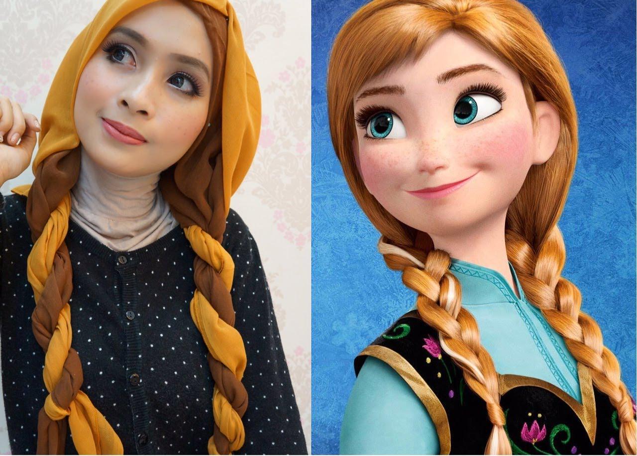 Ooiya On Twitter Tutorial Hijab Ala Kartun Princess Disney Http T Co P3uozvdju8 Disney Princess Hijabers Style Fashion Tips Http T Co 5w2vtujohy