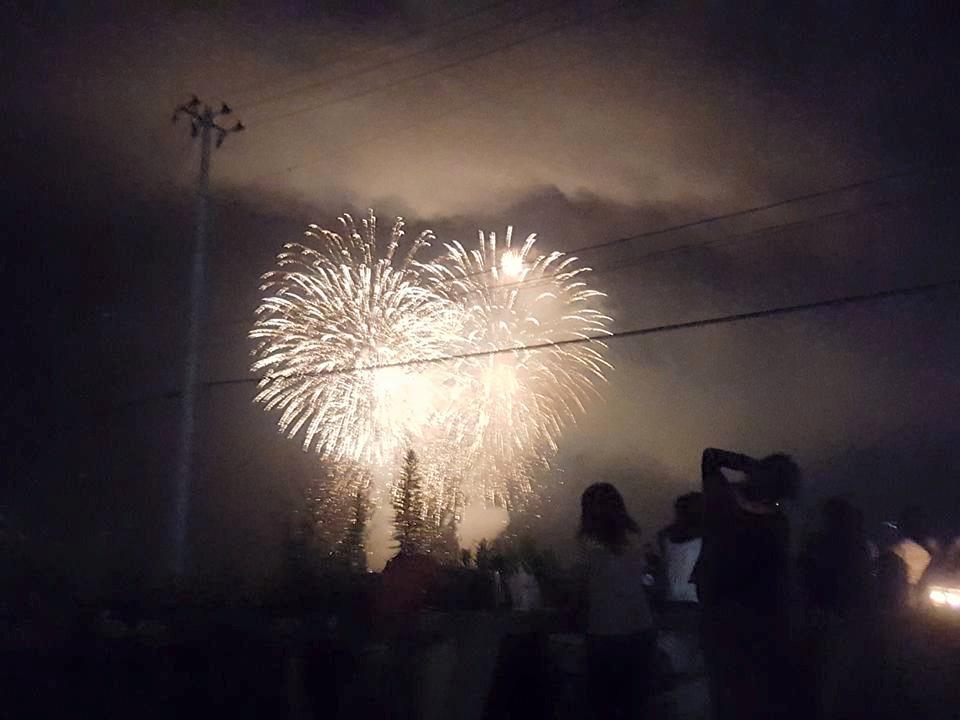 大船渡越喜来】 無事、おっきな花火がうち上がりました! 皆さまありがとうございます! #lun811 http://t.co/fVeTFbPGH9