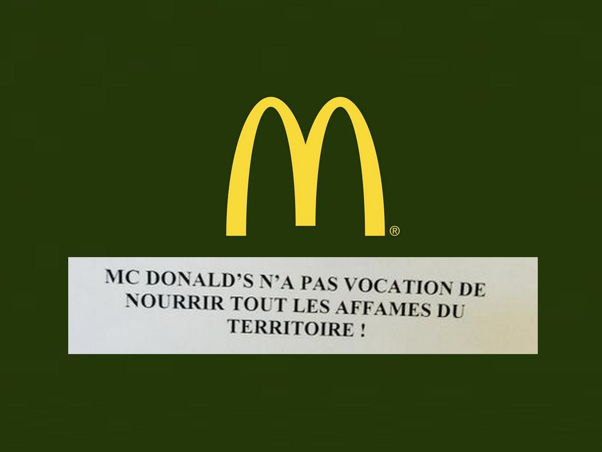Un McDonald's du Var interdit à ses salariés de nourrir les