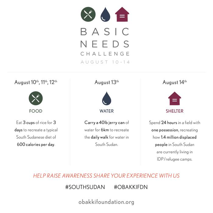 Are you following our Basic Needs Challenge? Treana shares her thoughts on day 1: http://t.co/2jynUhyyVf #ObakkiFdn http://t.co/BfUSoIBVAK