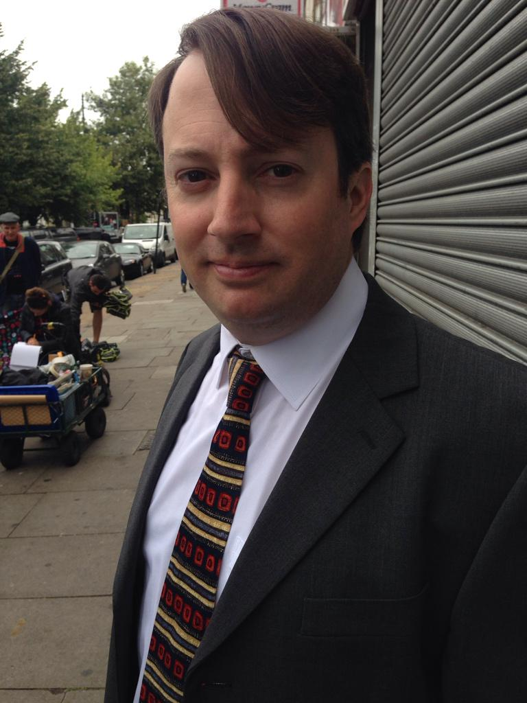 Return of the Tie @RealDMitchell #peepshow9 http://t.co/DBiALUud3D