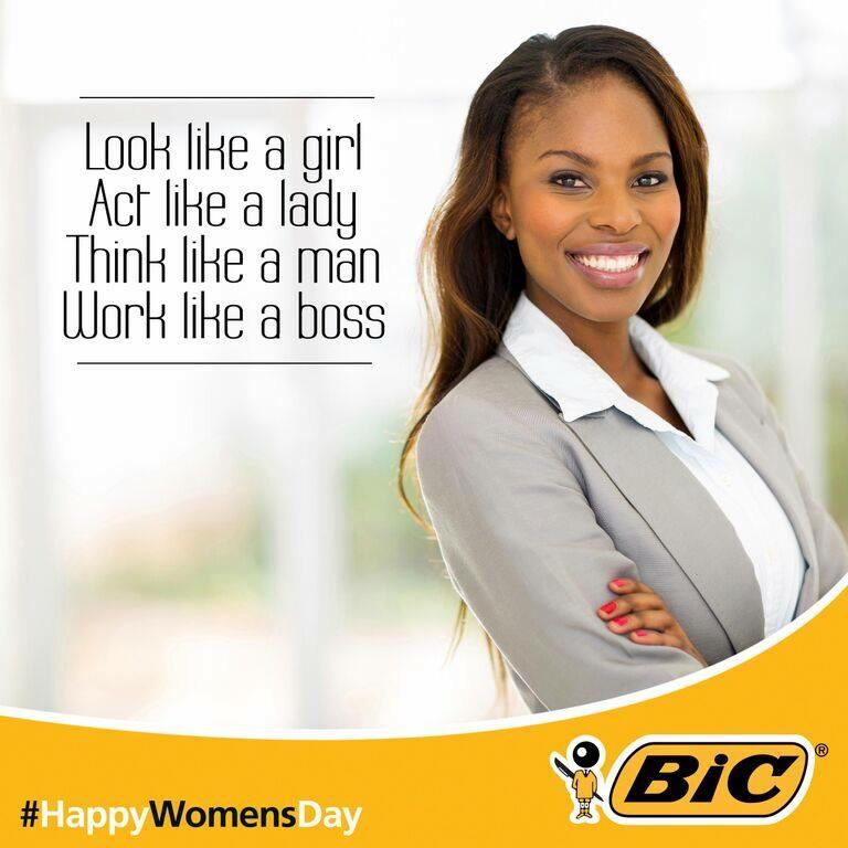 Good grief. It's like Bic actually rhymes with dick for a reason. Please tell me who the ad agency is. http://t.co/Jj835l7Rei