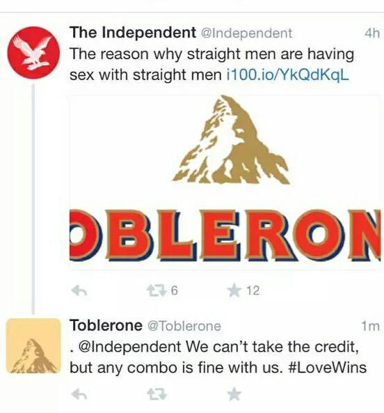 .@Toblerone responding perfectly to a glitch by @Independent via @rebeccaslater http://t.co/Xuw8X4wqEt