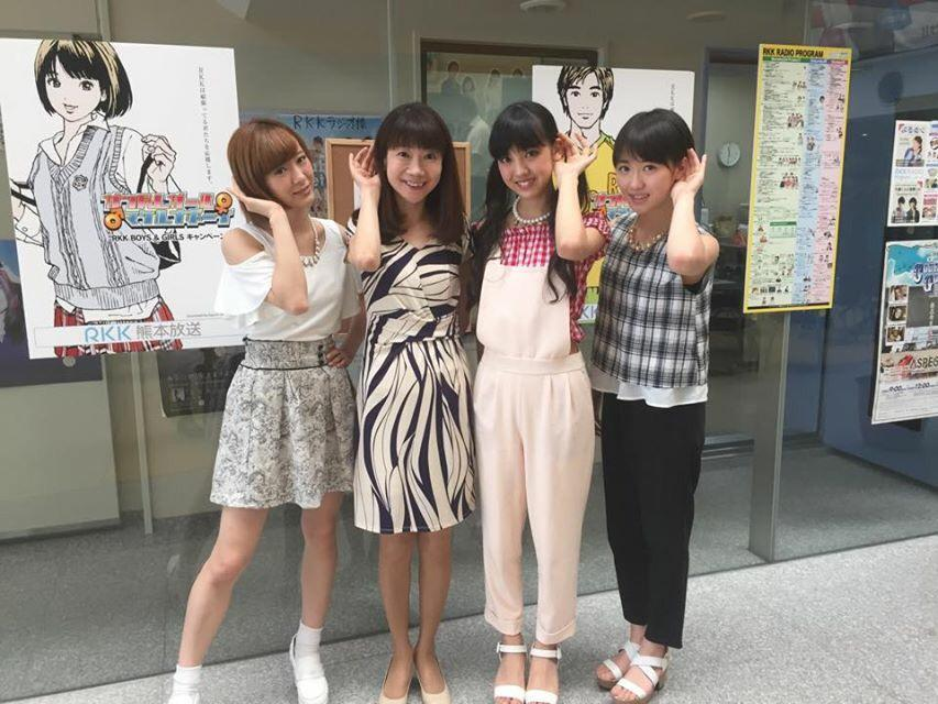 モー娘。可愛かった!熊本満喫してね♡  #33fan http://t.co/gPJAXvzwI0