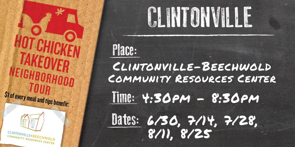 Hot Chicken Takeover On Twitter Tonight Thecrc Expclintonville