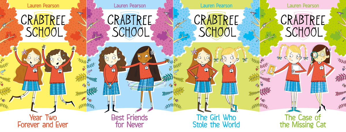 Win a signed set of the fantastic #crabtreeschool for your kids! RT by 5pm for your chance to win! http://t.co/r4OOJ13IIQ