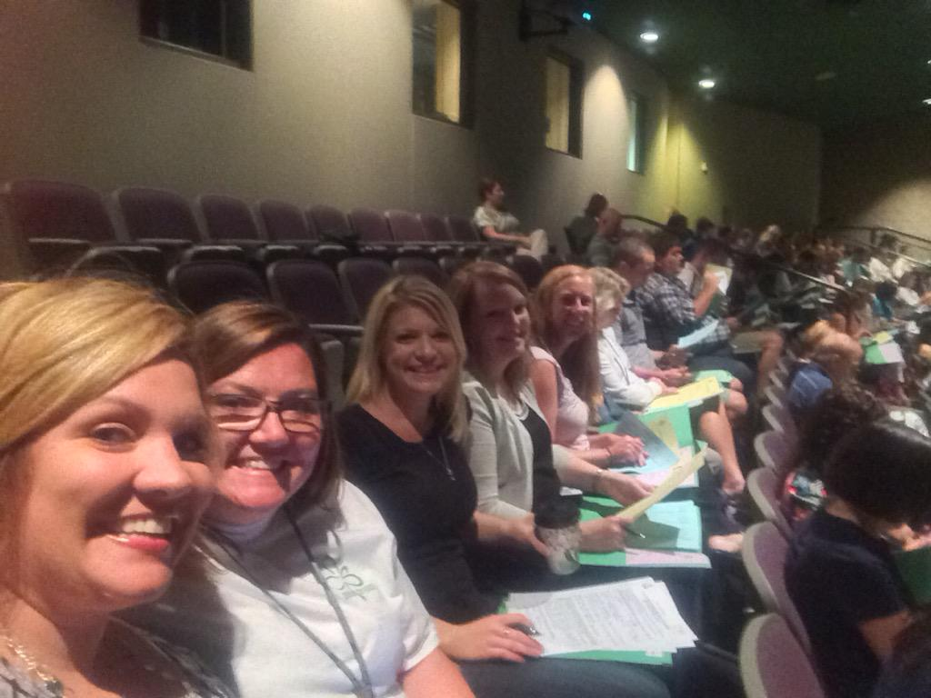 @teDCSD staff ready to present and learn at 2015 Leadership Academy #Leadership15 http://t.co/MyeQAdtWiu