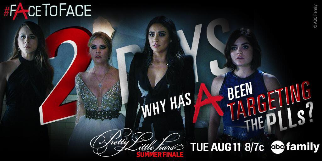 TODAY! #PrettyLittleLiars #FAceToFace http://t.co/yyRXIExlRP