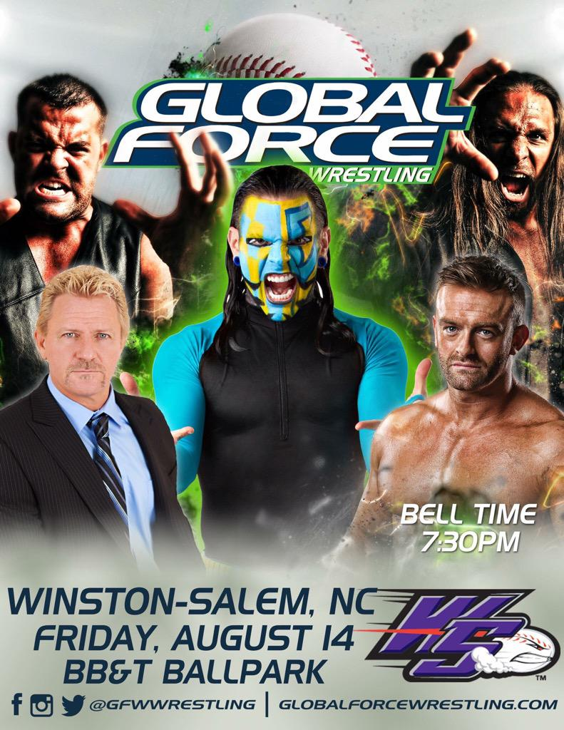 This Friday night the #BravadoBandwagon rolls into Winston-Salem. NC for @GFWWrestling. #JoinTheForce http://t.co/Z2Sie1fa89