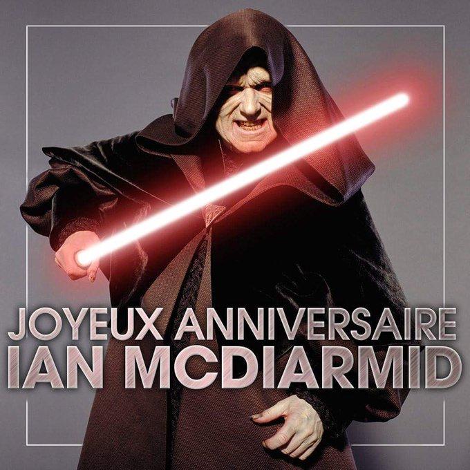 Palpatine Quotes: Ian Mcdiarmid's Birthday Celebration