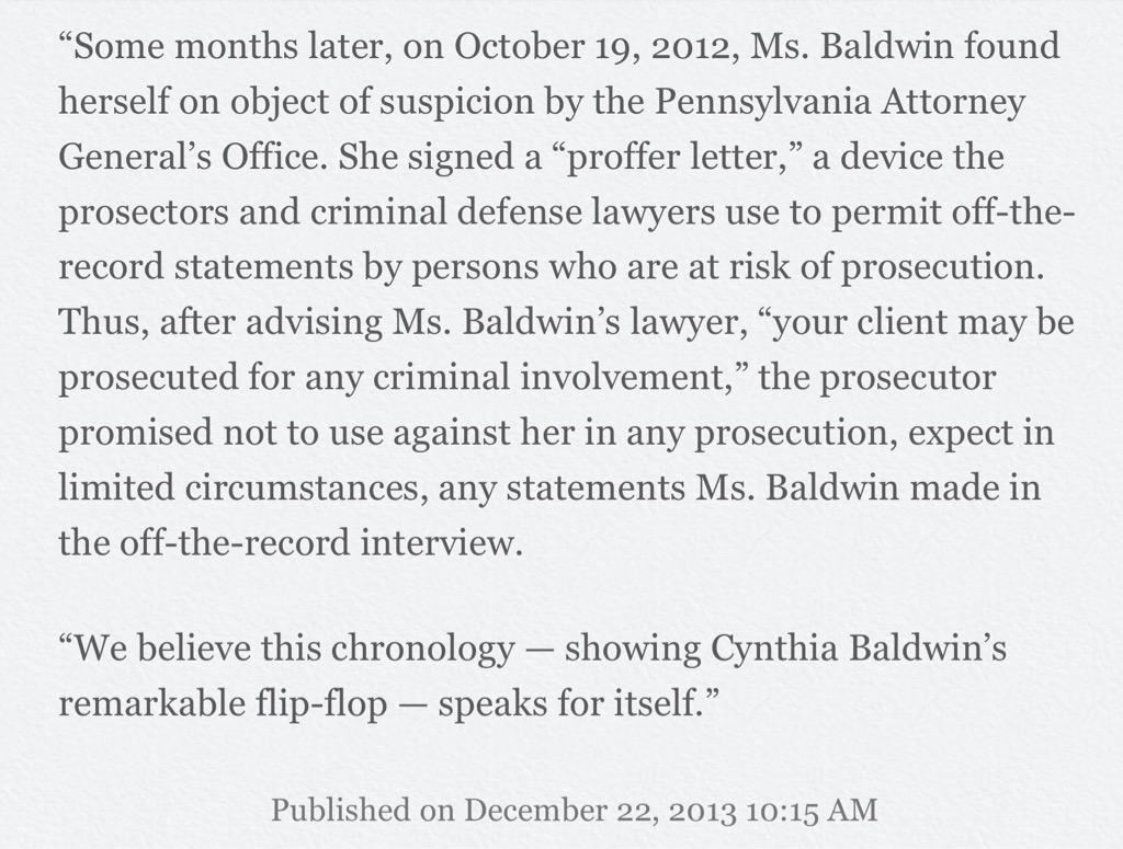 Jimmy W On Twitter Baldwins Proffer Letter Discussed 10222012