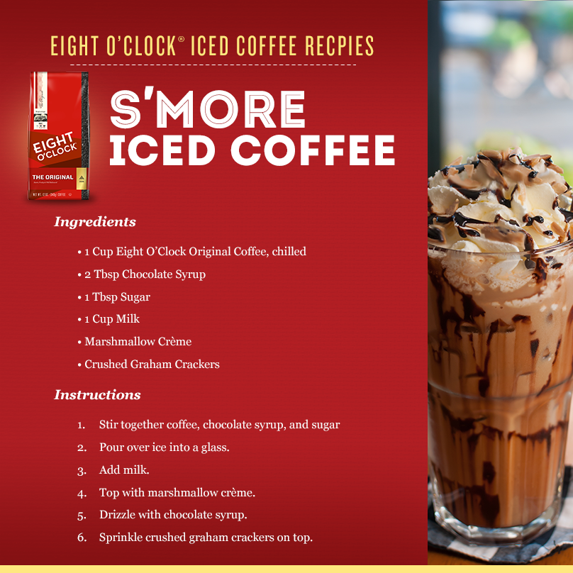 Want S'more Eight O'Clock Coffee? Tag a friend and you both could win a Gr8 summer prize pack! http://t.co/8MeP7VeiM7