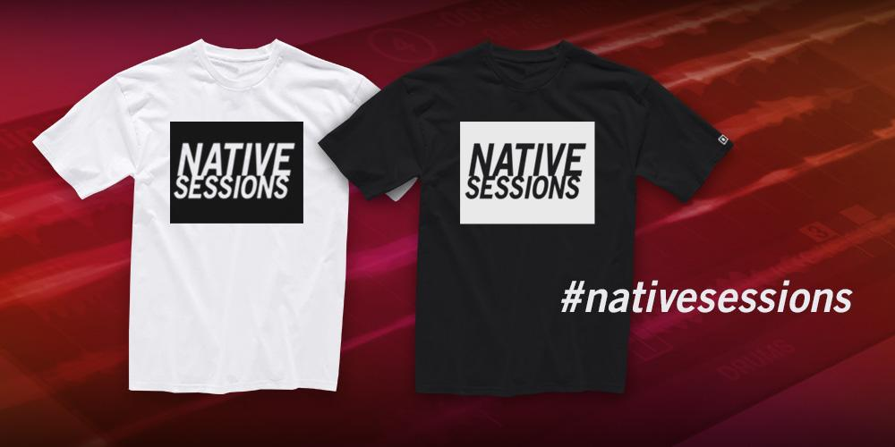 Win a #nativesessions t-shirt! RT this to enter, 50 random winners picked and notified Aug 14: http://t.co/S60LXIaN5U http://t.co/wDLjyql3wu