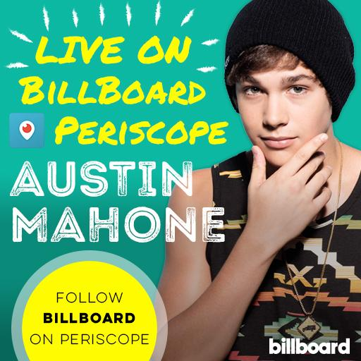 .@AustinMahone + Office Dancing = our #Periscope at 4 pm!  #Mahomies get ready to join the party LIVE.