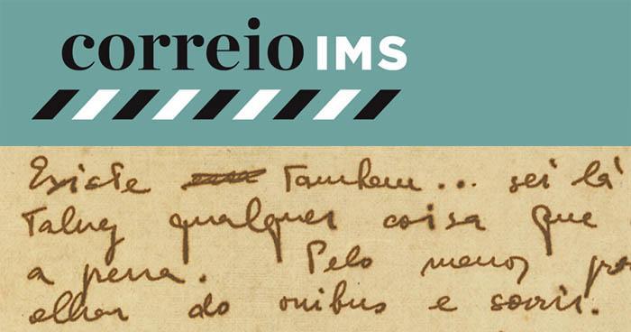 Correio IMS (Site de Correspondências do Instituto Moreira Salles) torna disponível cem cartas de 85 personalidades.