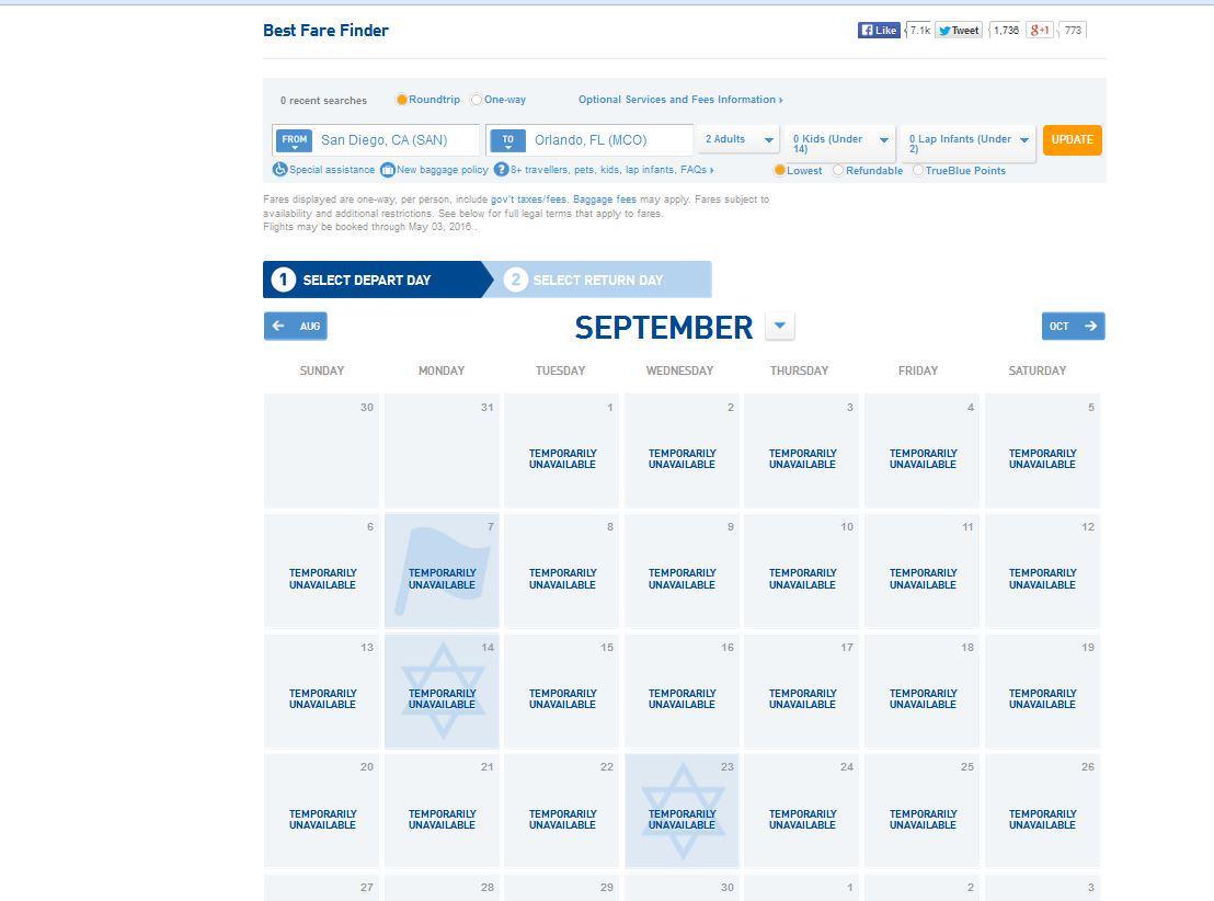 Jetblue Airways On Twitter Michelekubitz The Best Fare Finder Is This Website Currently Unavailable Cmjuuo6vaaefpio