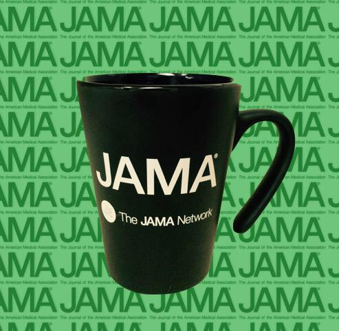 This cool mug from @JAMA_current goes to the person with the *best* tweet.  (Another chance tommorrow)  #NephJC http://t.co/J736SqHuK8