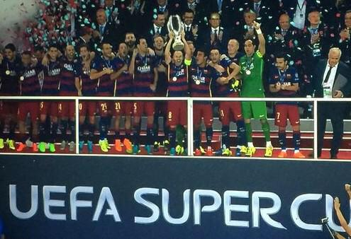 Barça Win Uefa Super Cup 2015