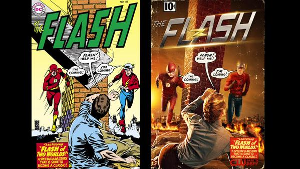 """I don't use the word """"cool"""" lightly, but this @CW_TheFlash image is. #CarmineInfantinoForever http://t.co/KQu2w4F9a9"""