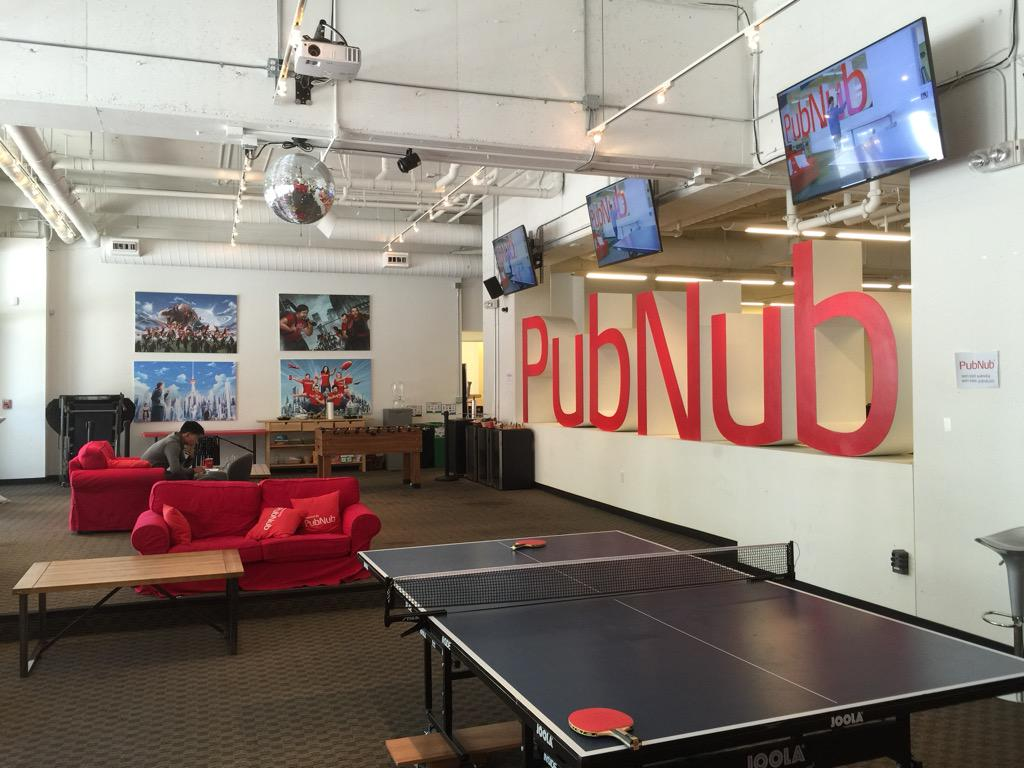 Thanks for your time today guys, great to look around and meet everyone at @PubNub http://t.co/Yx539IlqRz