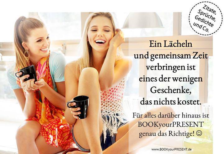 Bookyourpresent On Twitter Ein Lächeln Und Gemeinsam Zeit