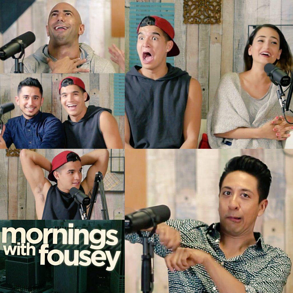 It gets HAIRY on #MorningsWithFousey w/ guests @AlexWassabi & @DariaAzizian .  See it here: https://t.co/9C6eCglQMj http://t.co/3FzcPdtCeG