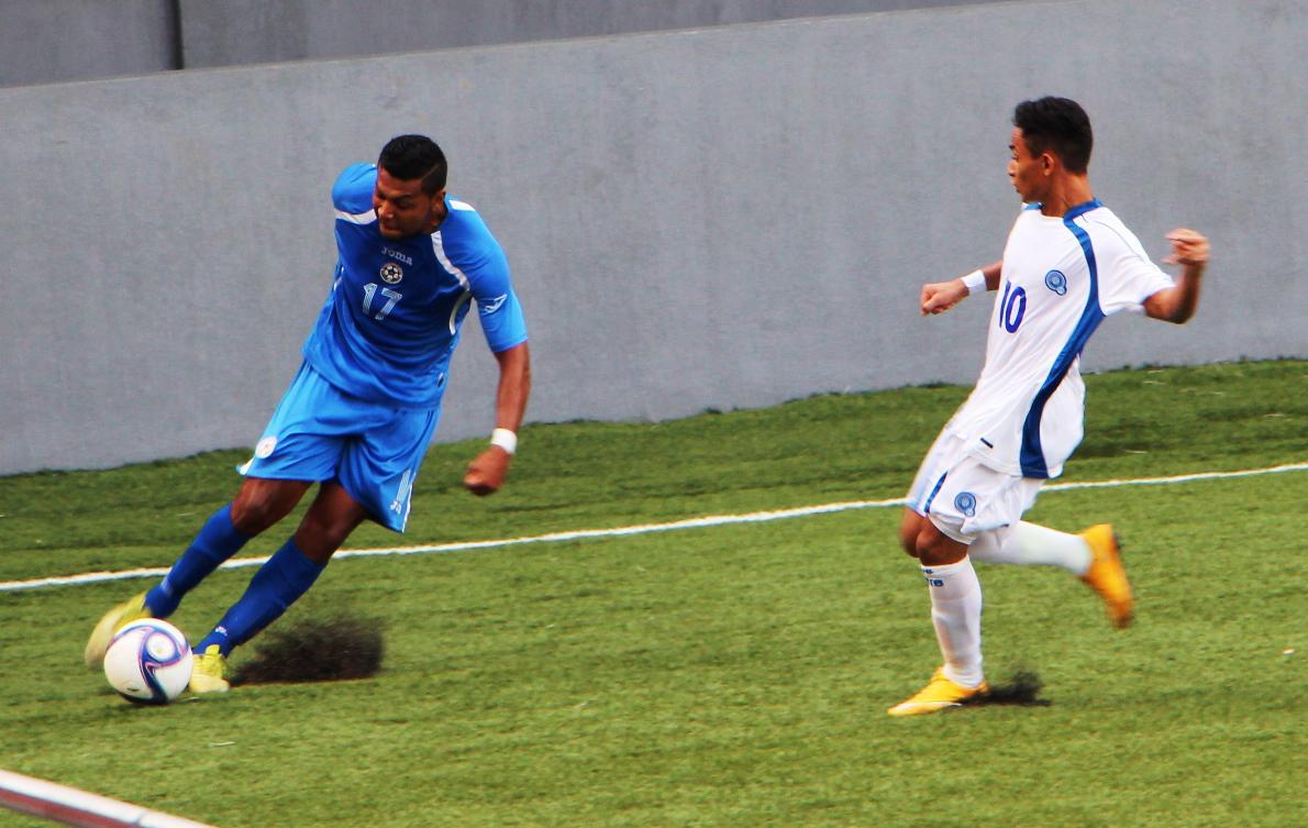 Eliminatorias UNCAF 2015 - Olimpicos Brasil 2016: El Salvador 1 Nicaragua 1. CMLLQVDUwAIszdK
