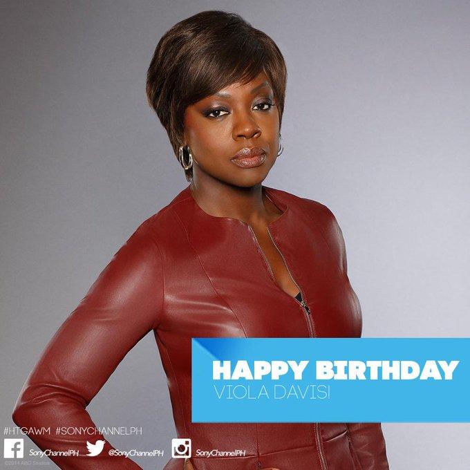 Viola Davis S Birthday Celebration Happybday To