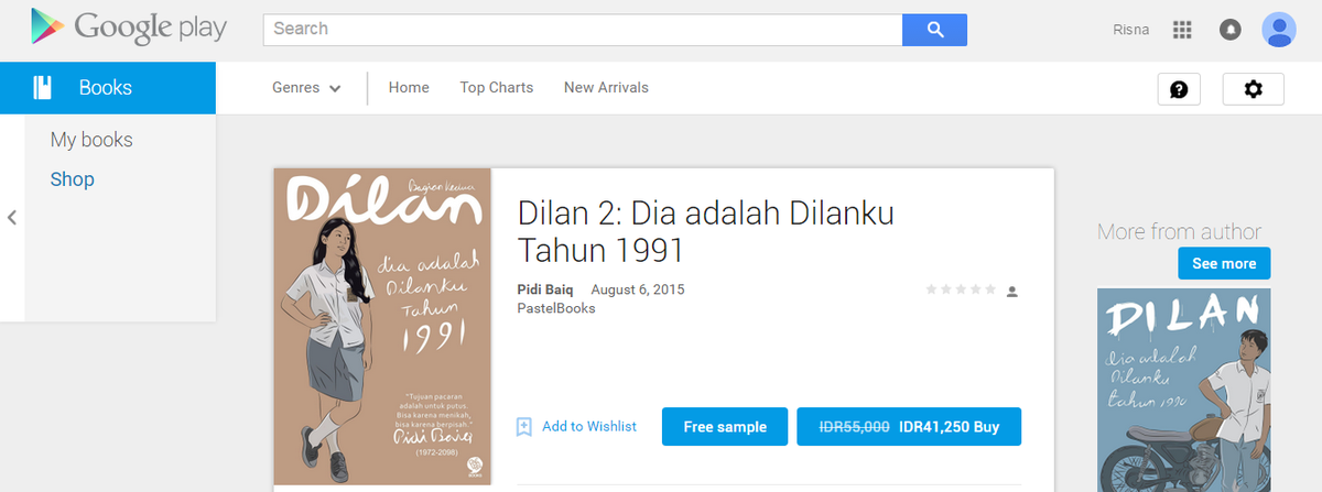 Ebook Dilan 1991 Full