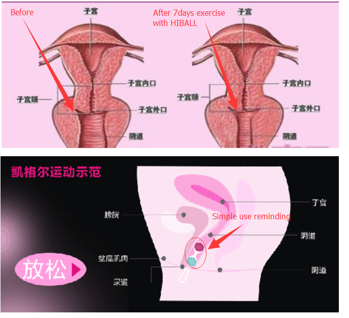 Ball in vagina video