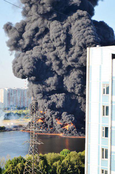 В Подмосковье на территории института ядерной физики произошел пожар - Цензор.НЕТ 6674