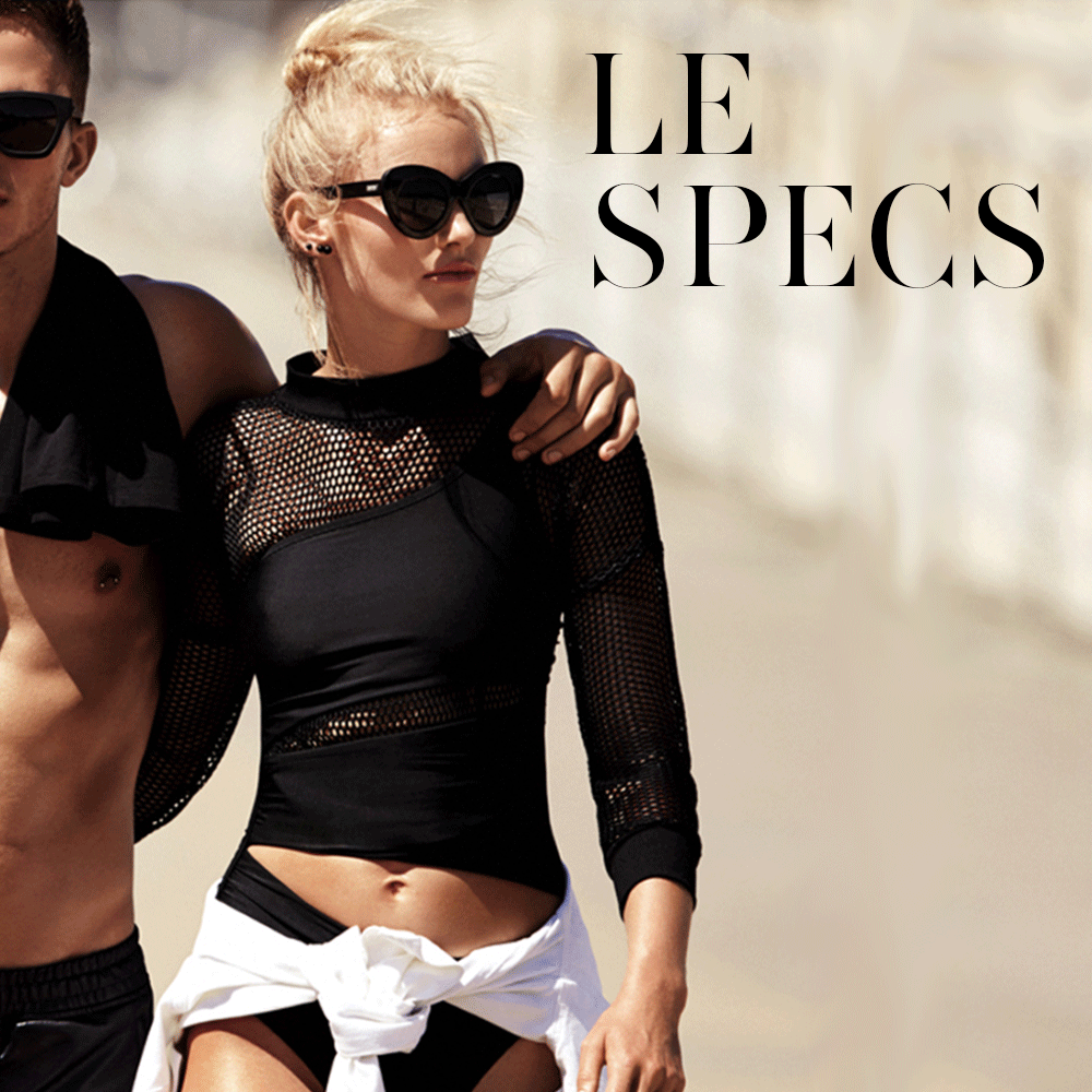Get ready for hotness and check out these new pairs of @LeSpecsofficial sunglasses: http://bit.ly/lespecsnew