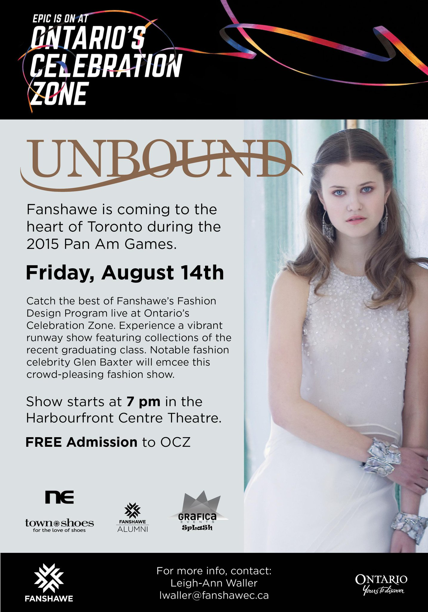 Fanshawecollege On Twitter Fanshawe S Fashion Design Program Arrives At The Parapan Am Games Friday To Remount Their 2015 Unbound Fashion Show Http T Co Aqjvqex7mk