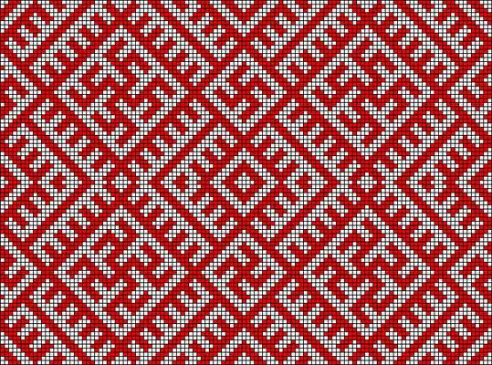 африканские орнаменты в вышивке