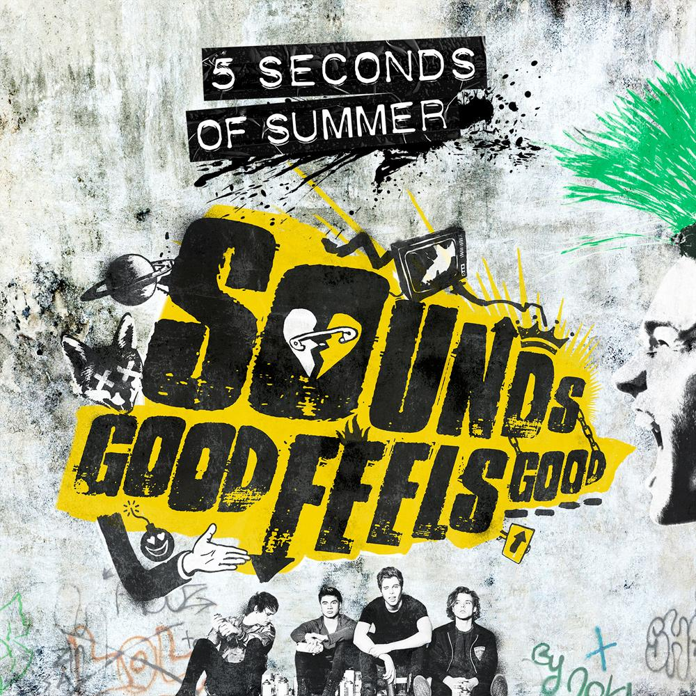 We have a new album !!!! So excited to finally tell you SOUNDS GOOD FEELS GOOD is released everywhere on October 23rd