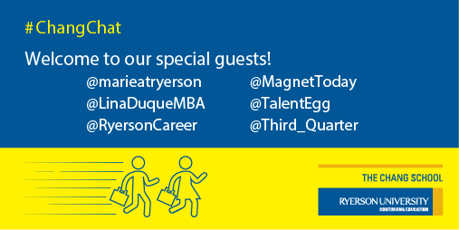 A warm welcome to our special guests. Thanks for joining us today! #ChangChat http://t.co/bLVFAmH9cY