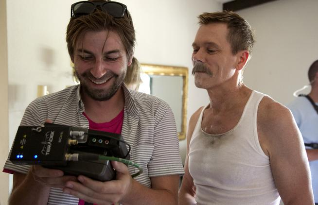 Director Jon Watts @jnwtts set and shot @CopCarMovie in hometown of Fountain w/ @kevinbacon http://t.co/vZD8iEWmoh http://t.co/dZZnVuQJge