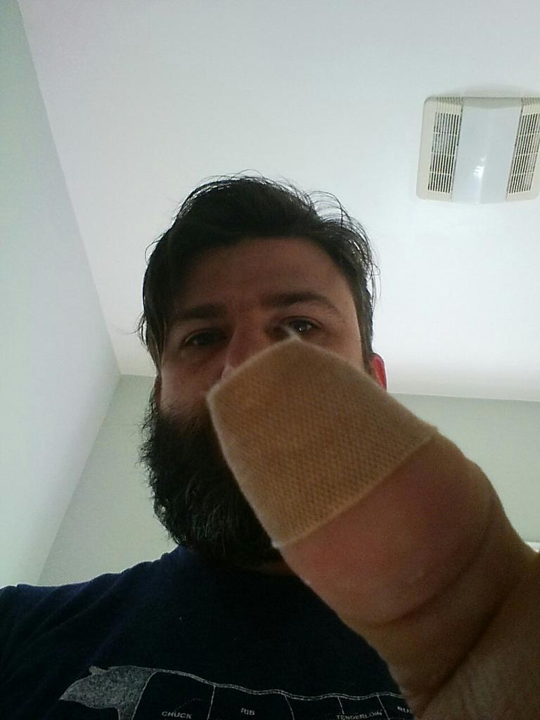 Billion dollar idea: band-aids that work on touch screens. http://t.co/aCBwvffY61