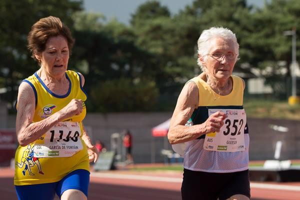The elderly athletes redefining old age