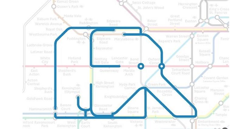 No one ever talks about the elephant on the tube #worldelephantday http://t.co/7DPxhfw4G3